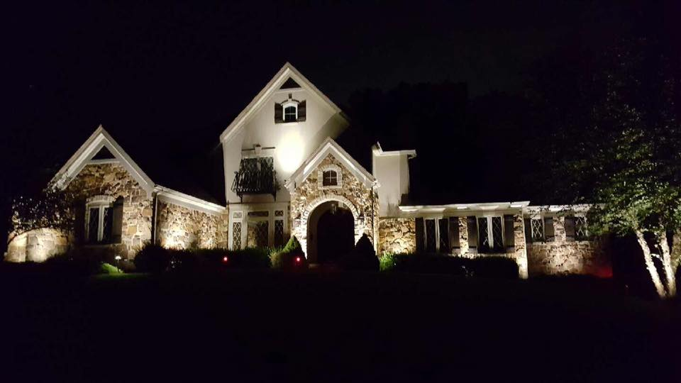 Led landscape lighting st louis outdoor lighting specialists led landscape lighting installation workwithnaturefo